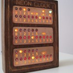 Nixie Neon Clock